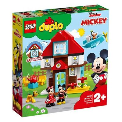 LEGO<sup>&reg; </sup> DUPLO<sup>&reg; </sup><br>Mickey's Vacation House