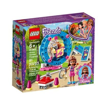 LEGO<sup>&reg; </sup> Friends <br>Olivia's Hamster Playground