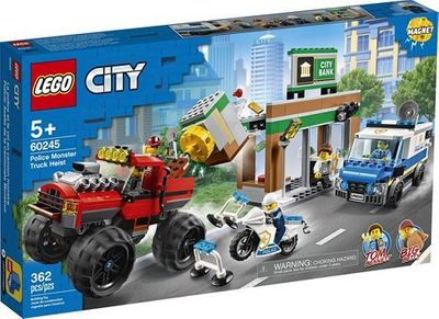 LEGO<sup>&reg; </sup>City<br>Police Monster Truck Heist