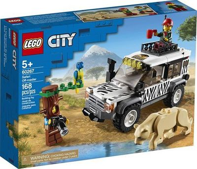 LEGO<sup>&reg; </sup>City <br>Safari Off Roader