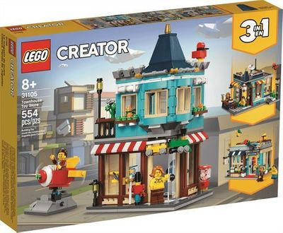 LEGO<sup>&reg; </sup> Creator <br> Townhouse Toy Store