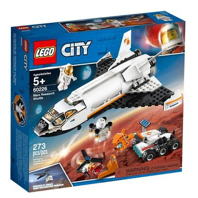 LEGO<sup>&reg; </sup> City <br>Mars Research Shuttle