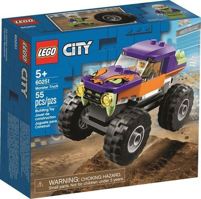 LEGO<sup>&reg; </sup>City <br>Monster Truck