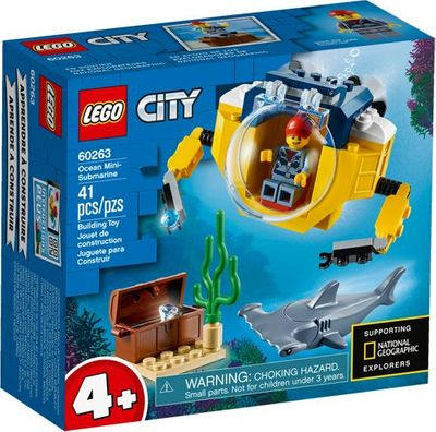 LEGO<sup>&reg; </sup> City <br>Ocean Mini-Submarine