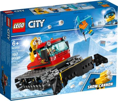 LEGO<sup>&reg; </sup>City <br>Snow Groomer