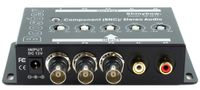 Shinybow SB-2819BNC (1)in-(1)out Component Video and Audio Booster - TAA Compliant
