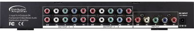 1 X 4 Component Video Splitter with audio - 1080p