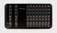 1 X 9 Component Splitter - Sends one HD and Audio signal to 9-HDTVs