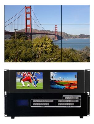 1080p HDMI Matrix Switchers with Built-in Video Wall Processor in 18x18 Chassis (81)