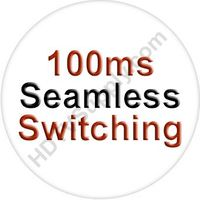 10x10 DVI Matrix Switcher with In & Out Scaling