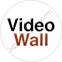 10x18 HDMI Matrix Switch over CAT5 with Video Wall Processor