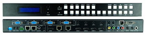 4K 11-Multiple Inputs to 2-HDMI Outs Mega-Scaler