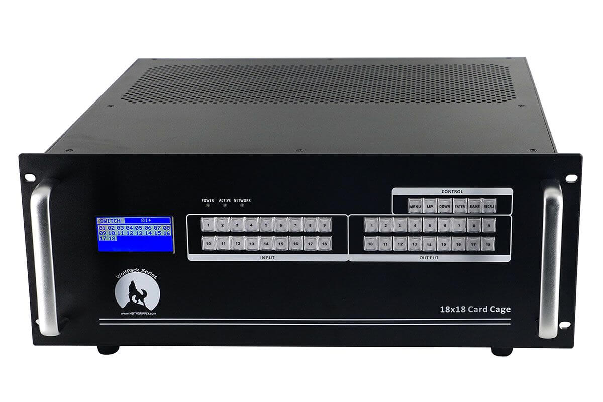 4K 14x12 HDMI Matrix Switch w/Apps & WEB GUI
