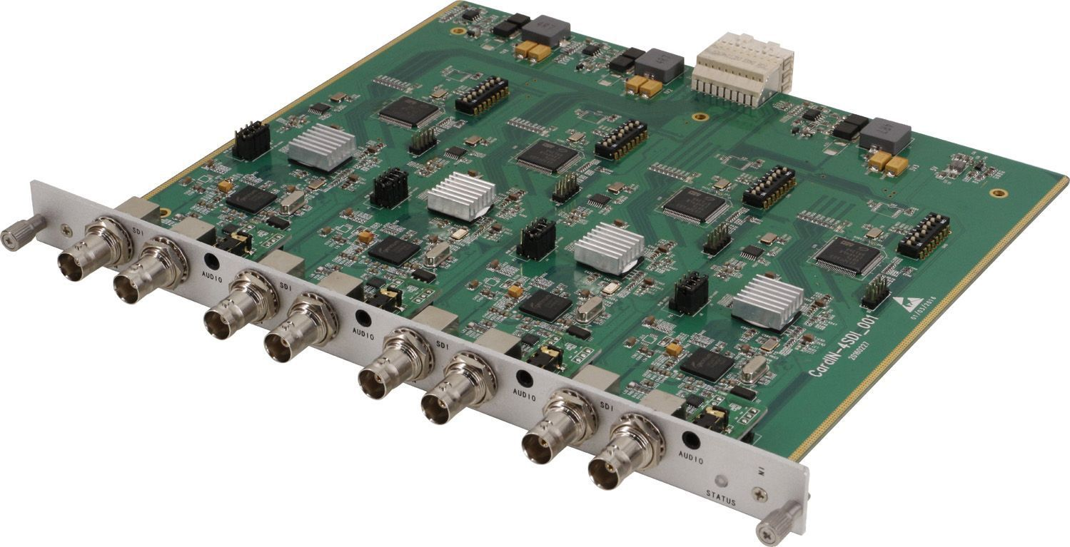 160x160 DVI Matrix Switcher with In & Out Scaling
