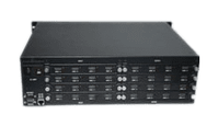 See 17-4K Different HDMI Matrix Switchers in a 16x16 Chassis
