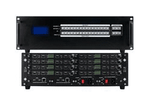 See 16-Different HDMI Matrix Switchers in a 16x16 Chassis w/Video Wall