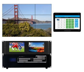 Build a Modular HDMI Matrix Switcher w/Video Wall Function in a 16x16  Chassis
