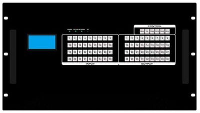 16x28 SDI Matrix Switch with a Video Wall Function & Apps