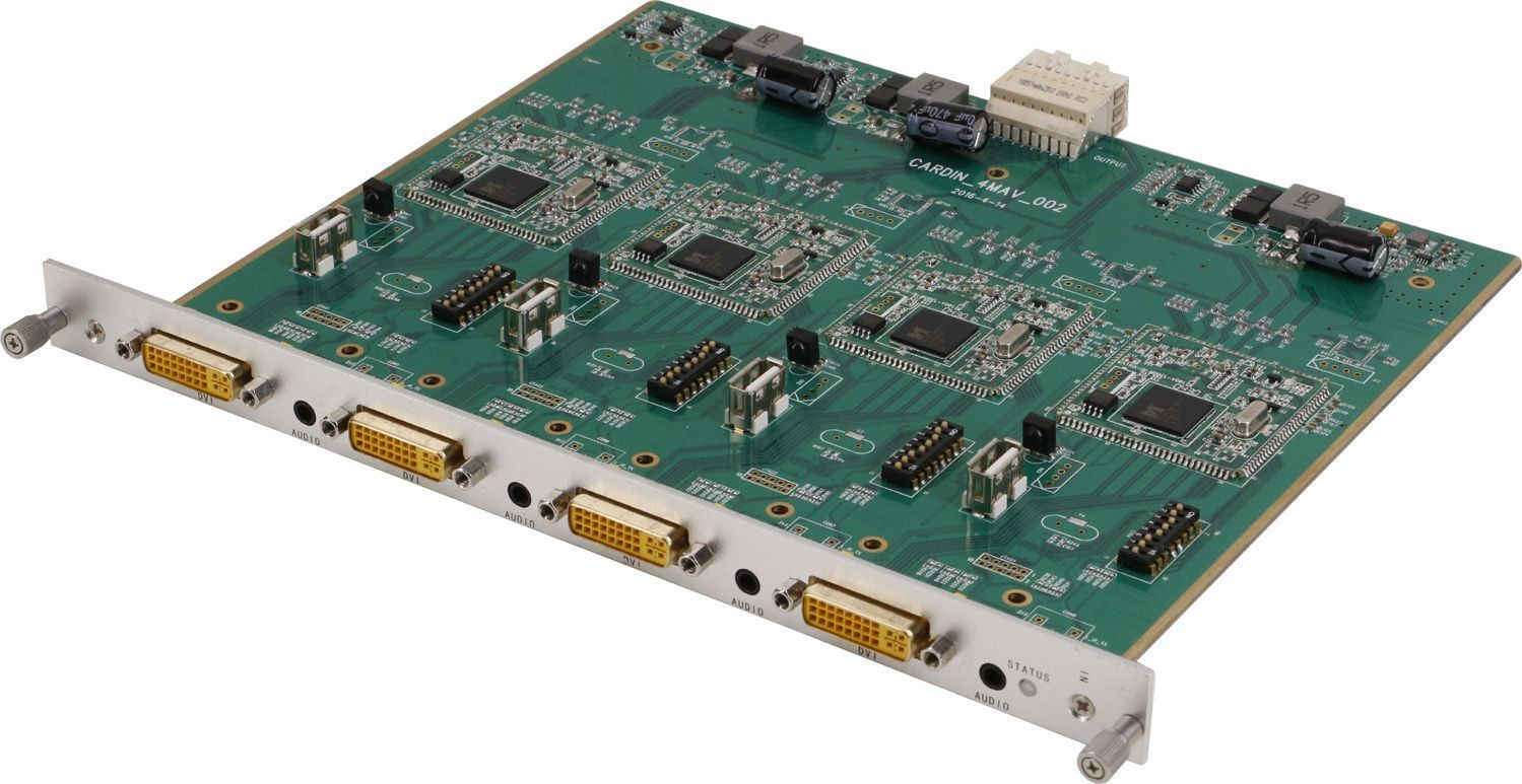16x64 DVI Matrix Switcher with In & Out Scaling