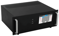 16x7 DVI Matrix Switcher with In & Out Scaling