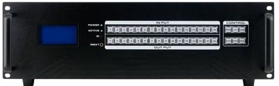 16x8 SDI Matrix Switch with a Video Wall Function & Apps