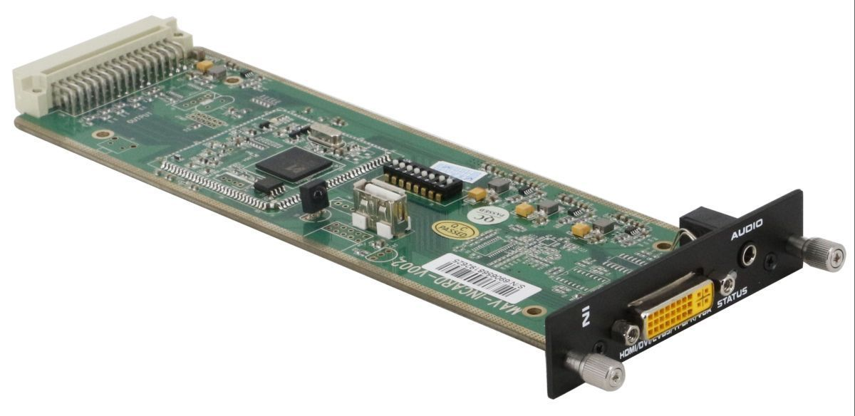18x7 DVI Matrix Switcher with In & Out Scaling