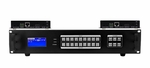 4K 1x2 HDBaseT Splitter w/2-HDBaseT Receivers & Out Control to <i>220'</i>