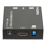 WolfPack 1x2 HDMI Splitter with HDCP 2.2