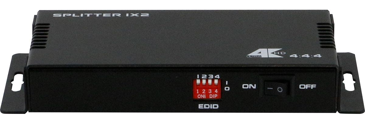 1x2 HDMI Splitter with 4K