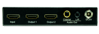 1x2 HDMI Splitter with Audio Out and EDID