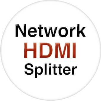 1x2 Wallplate HDMI Splitter Over IP with POE
