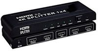 WolfPack 4K 1x4 HDMI 2.0 Splitter with Built-in Booster