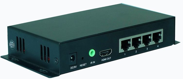 WolfPack 1x4 HDMI Distribution Amplifier to 300' w/IR