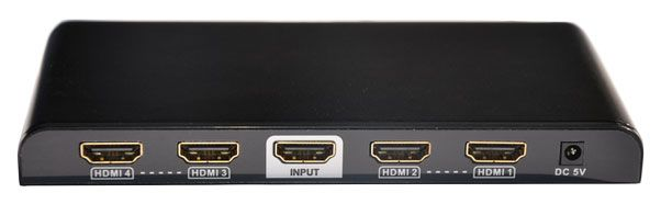 1x4 HDMI Splitter with EDID & Built-in Booster - 4K