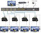 1x4 HDMI Splitter with POC to 150 feet Over CAT6 with IR & EDID - Extra Image 2