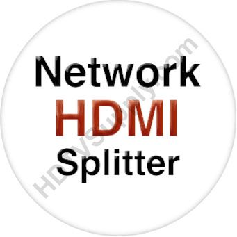 1x4 Network HDMI Splitter with Remote IR