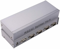 1x4 RS232 Splitter