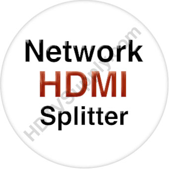 1x5 Network HDMI Splitter with Remote IR