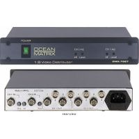 1x8 Video Only Distribution Amp