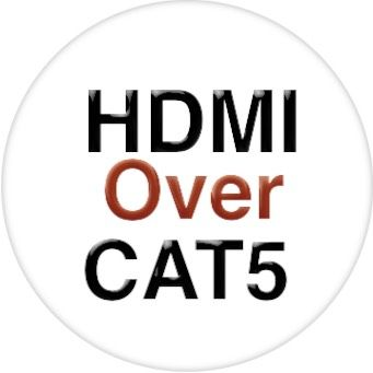 24x16 HDMI Matrix Switch with 16-Separate HDMI to CAT5 Baluns