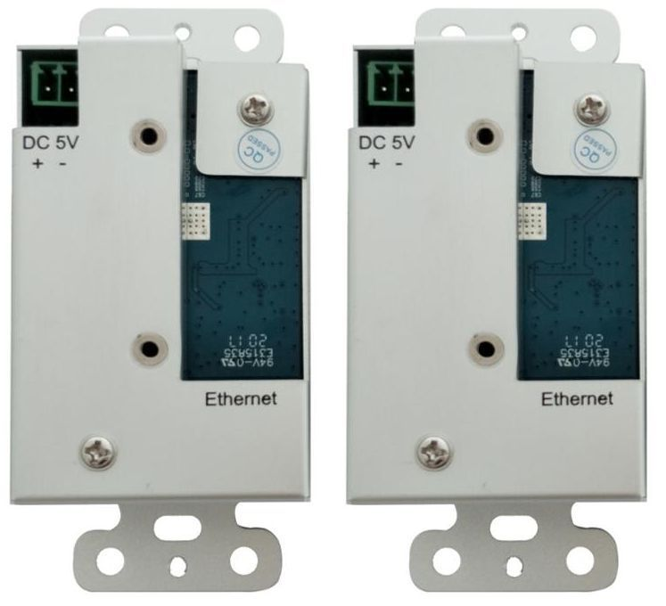 2x7 Wallplate HDMI Matrix Switch Over IP with POE