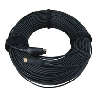 4K WolfPack 33 Foot HDMI Active Video & Audio Optical Cable