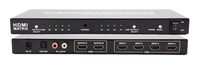4K - 4-2 HDMI Matrix Switcher & Separate Optical & Stereo Out
