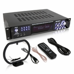 4-Channel Amp with Mic Input