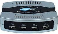 Gefen EXT-WUSB-4 4 Port Wireless USB 2.0 Extender Sender / Dongle