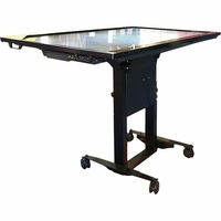 487A03 Interactive Mobile Stand w/Free Shipping & 5-Year Warranty