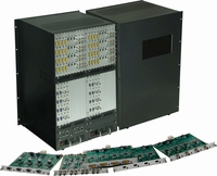 48x48 Modular Matrix Switch Chassis With Video Walls