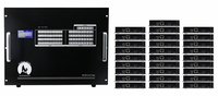 4K 14x28 HDMI Matrix HDBaseT Switcher w/28-HDBaseT Receivers & Apps