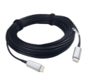 4K 180-Foot WolfPack AOC Fiber HDMI 2.0 Cable - HDCP 2.2