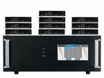 4K 1x10 HDBaseT Splitter w/10-HDBaseT Receivers & Output Control to <i>220'</i>